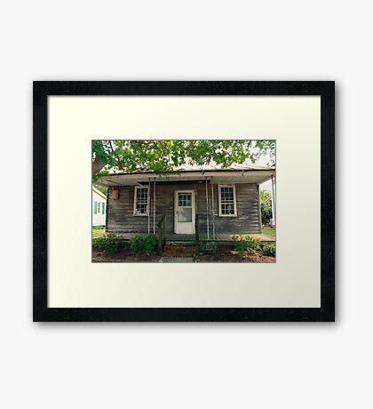 Oldest House in North Carolina Framed Print