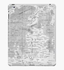 Vintage Map of The Moon (1645) iPad Case/Skin