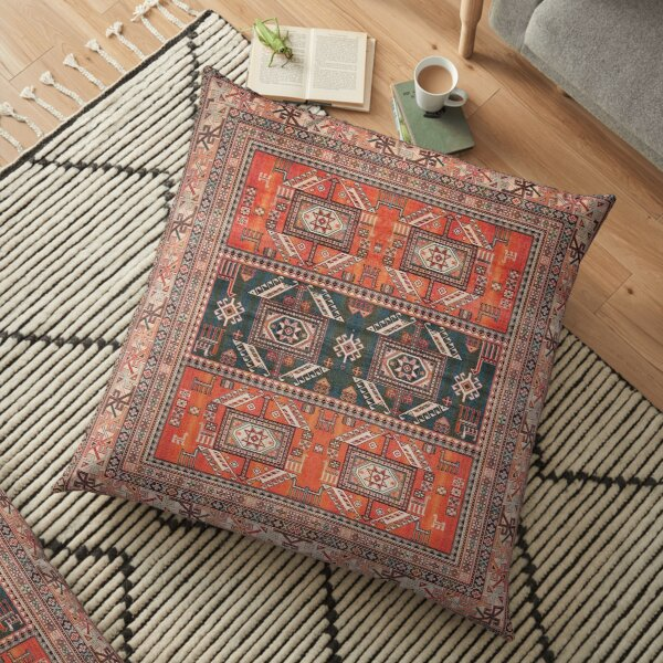 Oriental Heritage Traditional Vintage Moroccan Style Floor Pillow