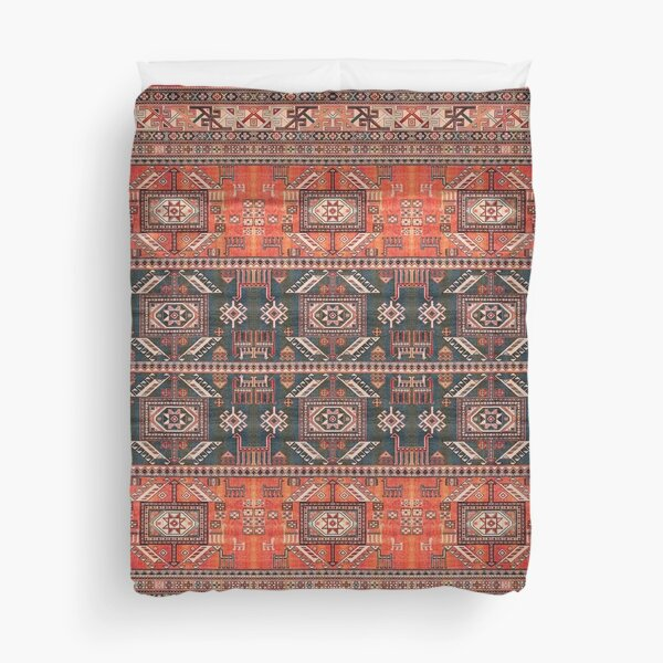 Oriental Heritage Traditional Vintage Moroccan Style Duvet Cover