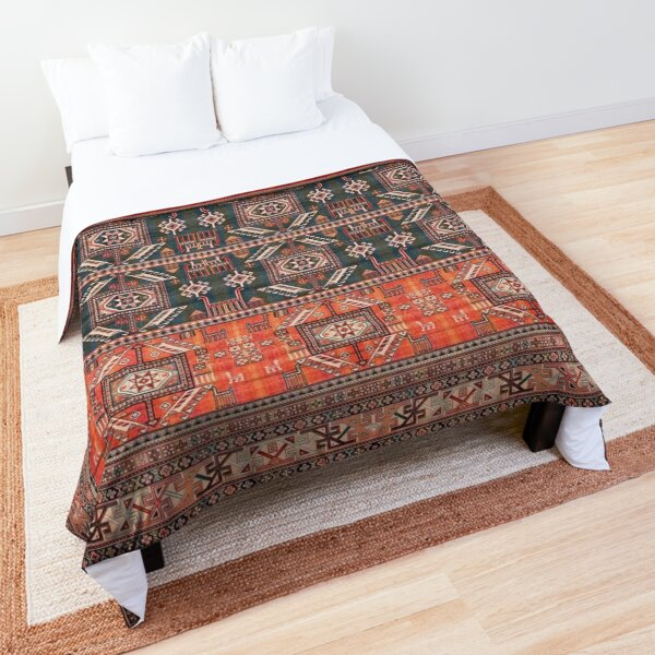 Oriental Heritage Traditional Vintage Moroccan Style Comforter