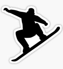 Snowboarding freestyle Sticker