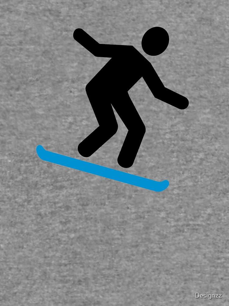 Snowboard alpino de Designzz
