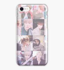 Wonho Selfies (Pink) iPhone Case/Skin