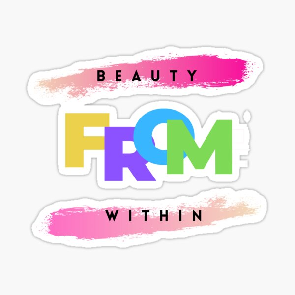 Beauty from within - LGBT  Sticker