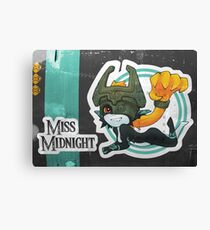 Miss Midnight Canvas Print