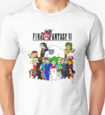 Final Fantasy 6 Characters Unisex T-Shirt