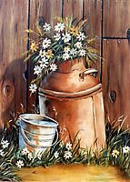 Daisies  by Margaret Harris
