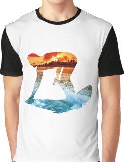 Surfing White Version Graphic T-Shirt