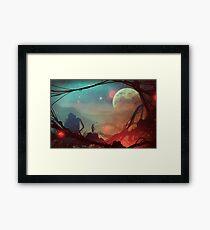 Moonlight in 1986 Framed Print