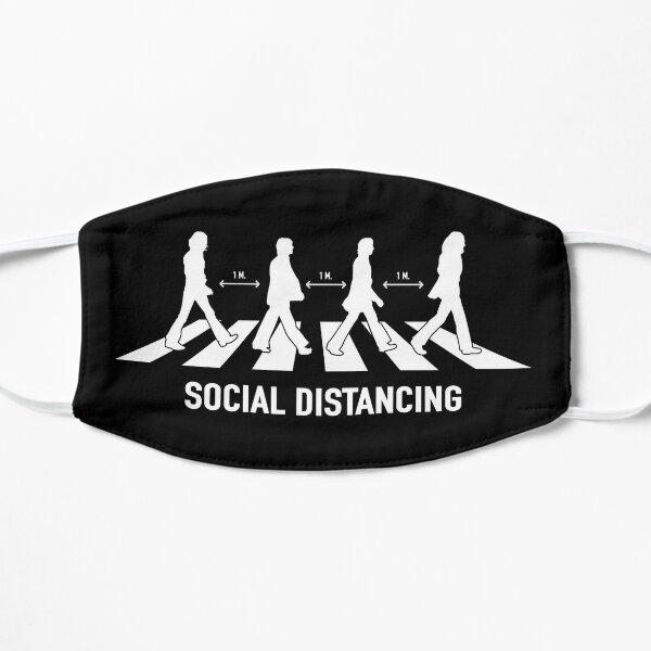 Abbey Road Social Distancing Flat Mask