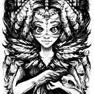 Princess of Ravens (Transparent) by Penelope Barbalios