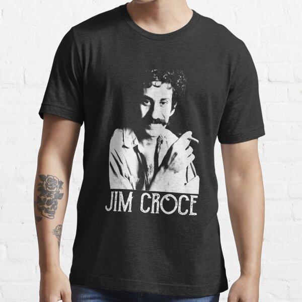 Classic Jim Croce - White Stencil Essential T-Shirt