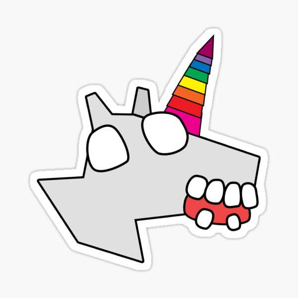 zombie unicorn Sticker