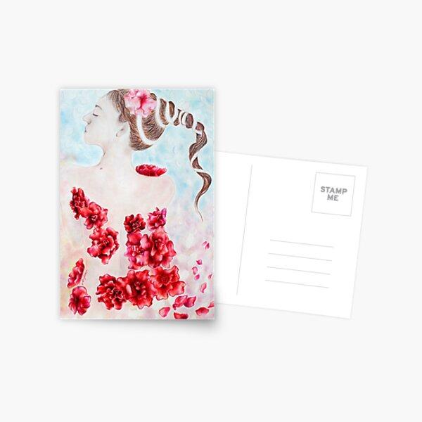 La Fleur Rouge Postcard