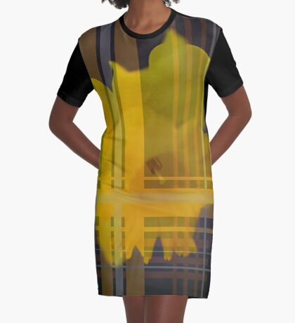 Daffodil Rich Graphic T-Shirt Dress