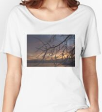 A Sunrise Through Icy Branches Women's Relaxed Fit T-Shirt