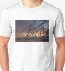 A Sunrise Through Icy Branches T-Shirt