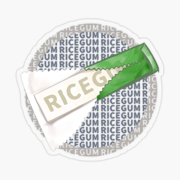 Ricegum Drawing With Text Transparent Sticker
