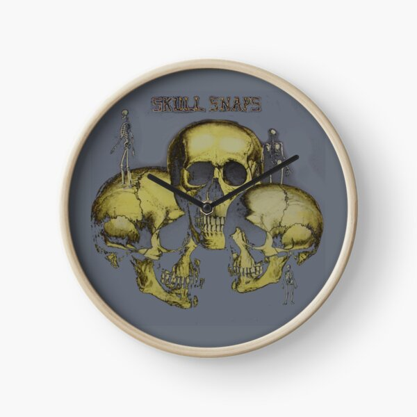 Skull Snaps  | Skull gift Clock