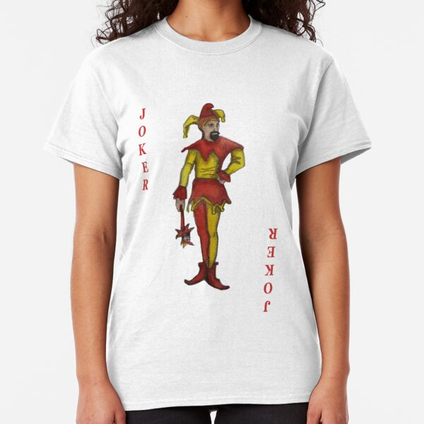 The JOKER Playing Card Classic T-Shirt