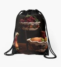 The Delicious Fruit Family Drawstring Bag