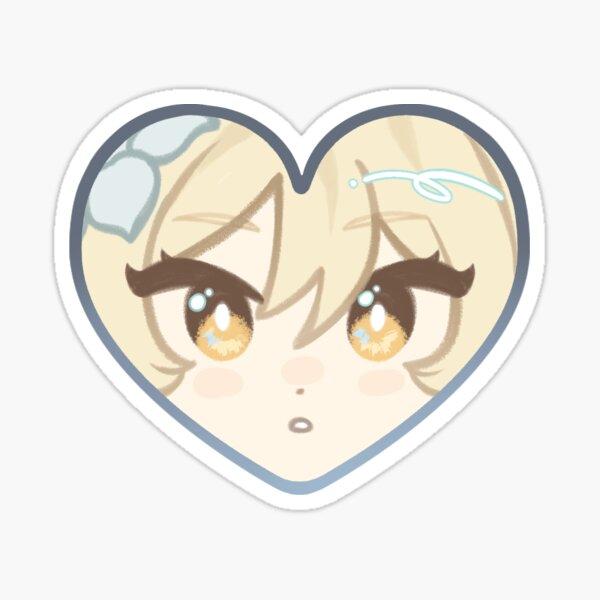 Lumine ♥ Genshin Impact Heart Sticker