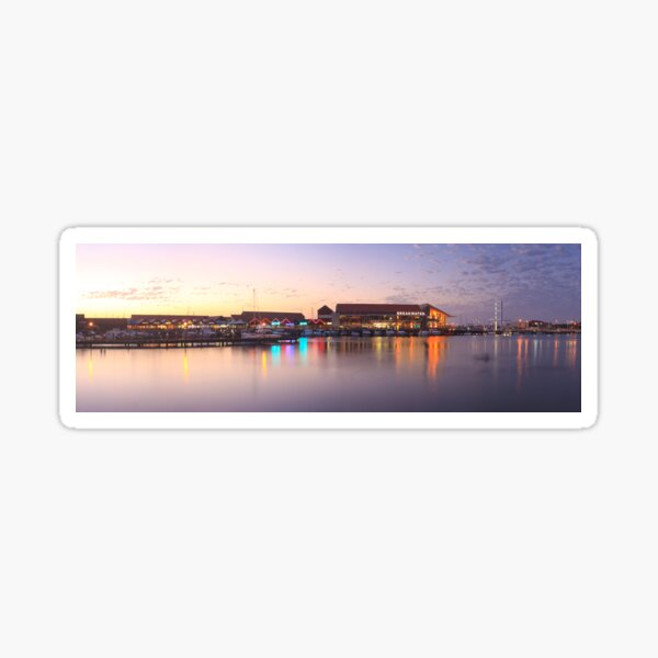 Harbour Lights, Hillarys Boat Harbour Sticker