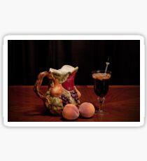 Pitcher of Peach Tea  Sticker
