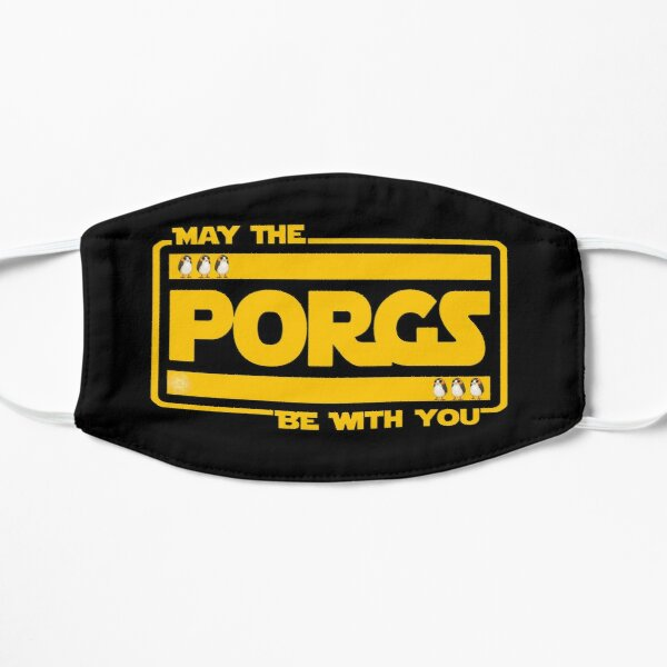 May The Porgs Be With You Flat Mask