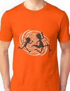 running time Unisex T-Shirt
