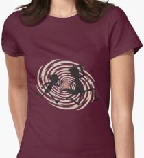 running time Womens Fitted T-Shirt
