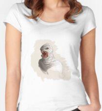 Xfiles Fluke Man Women's Fitted Scoop T-Shirt