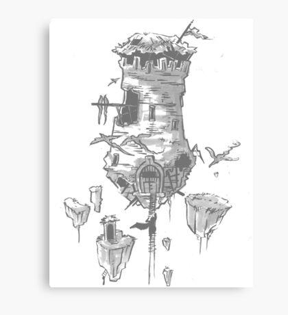 The Last Keep Canvas Print