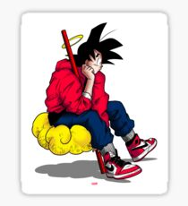 Young Goku Sticker