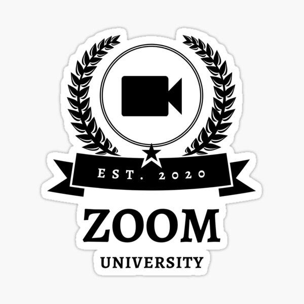 Zoom university, zoom classes, online classes, class of 2021 Sticker