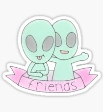 Tumblr Bff Drawing Stickers Redbubble