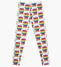rainbow snoop Leggings
