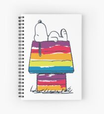 rainbow snoop Spiral Notebook