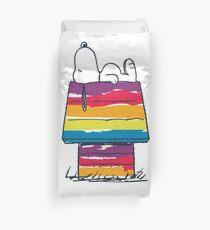 rainbow snoop Duvet Cover