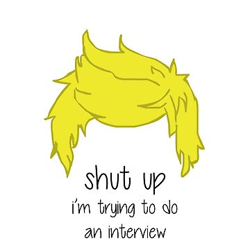 shut up i'm trying to do an interview - Niall by AEkon