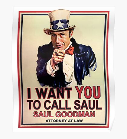 You Better Call Saul Poster