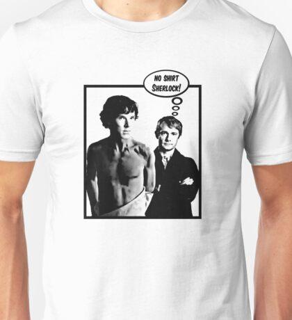 No Shirt Sherlock! T-Shirt