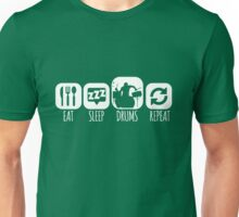 Eat Sleep Drums Drummer Mantra Unisex T-Shirt