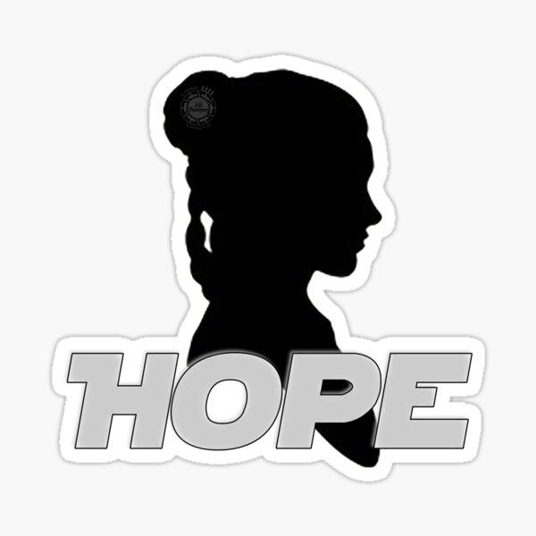 Hope... Sticker