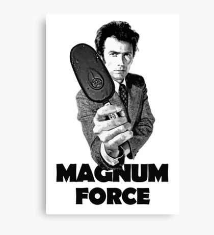 Dirty Harry Magnum Force Canvas Print