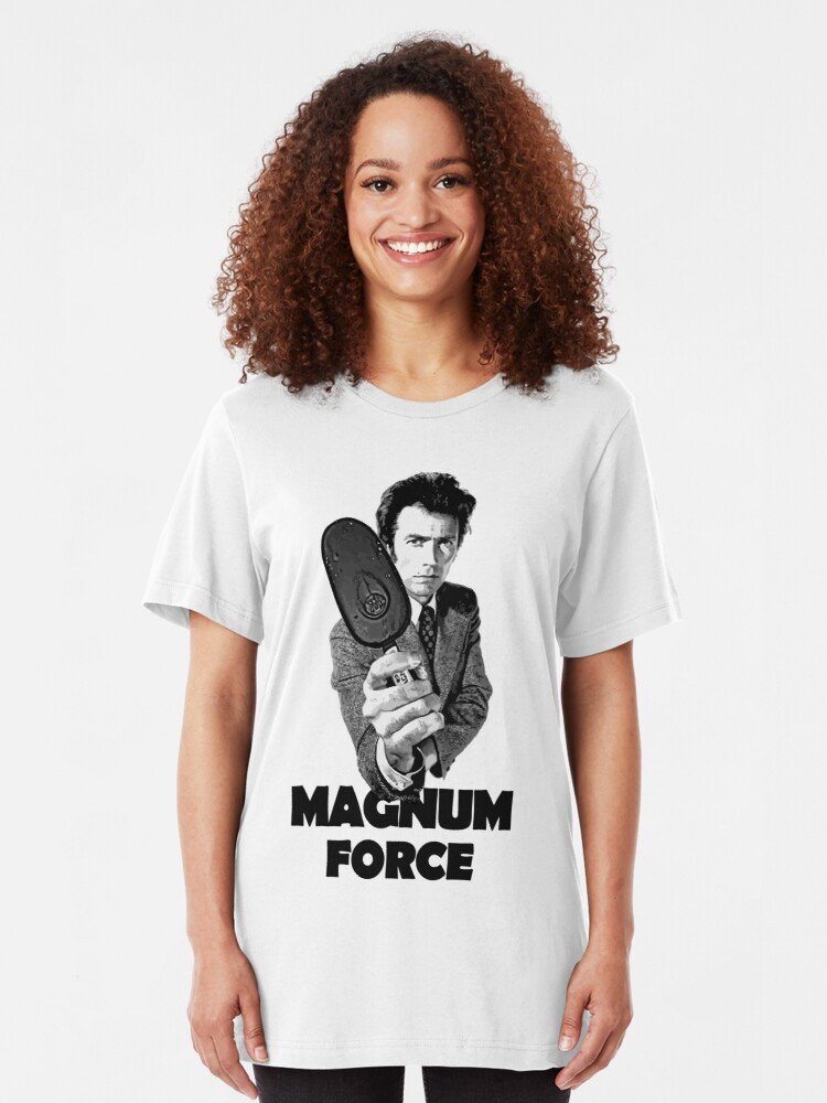 Alternate view of Dirty Harry Magnum Force Slim Fit T-Shirt