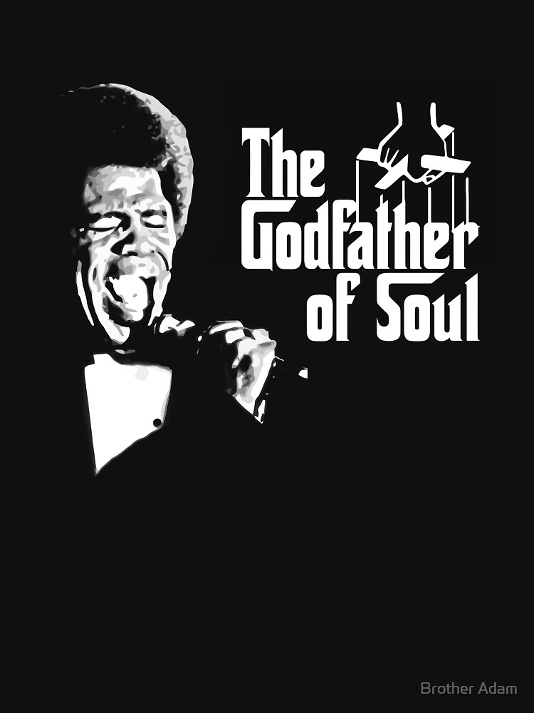 The Godfather of Soul - James Brown by atartist