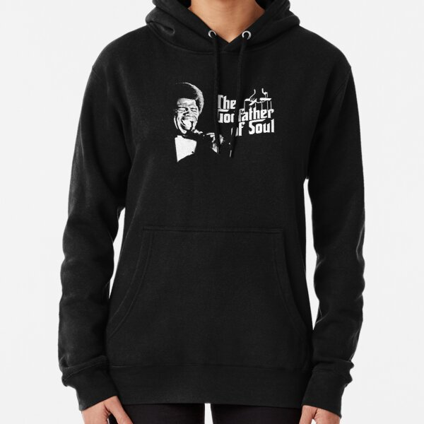The Godfather of Soul - James Brown Pullover Hoodie