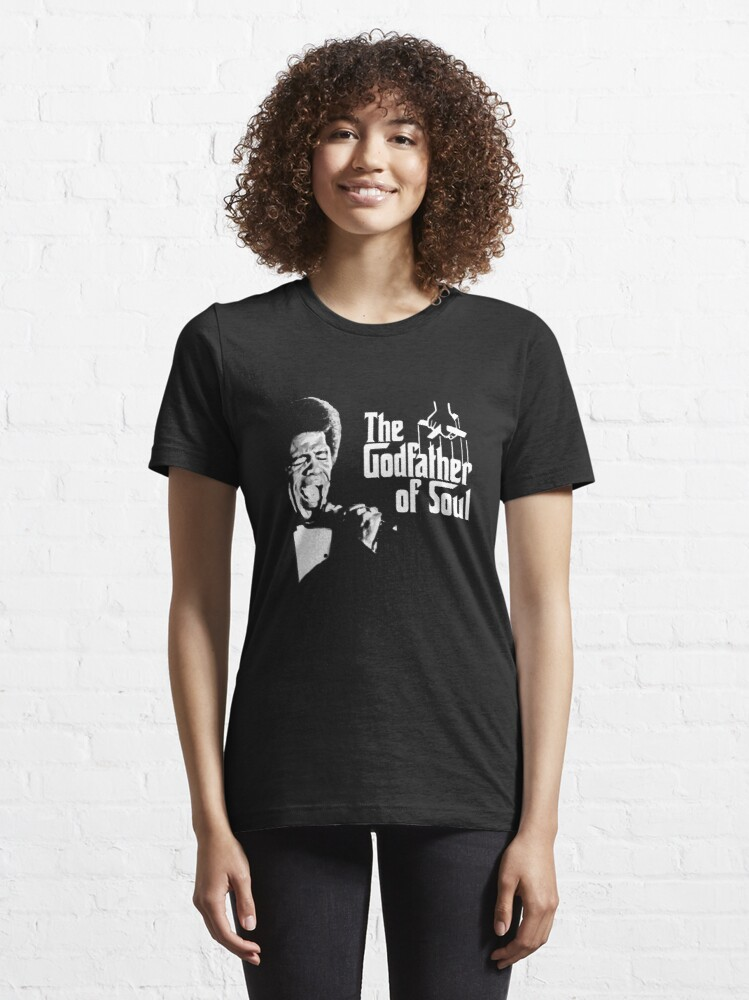 Alternate view of The Godfather of Soul - James Brown Essential T-Shirt